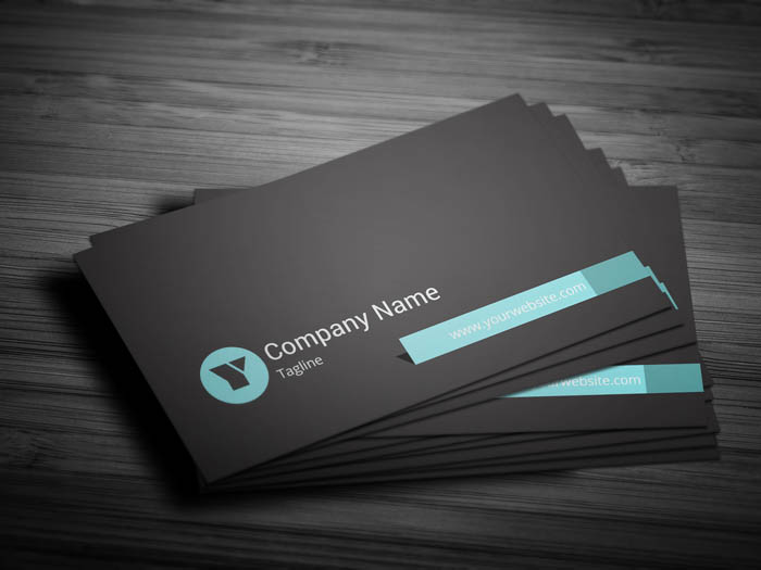 Minimal Coo Business Card - Front