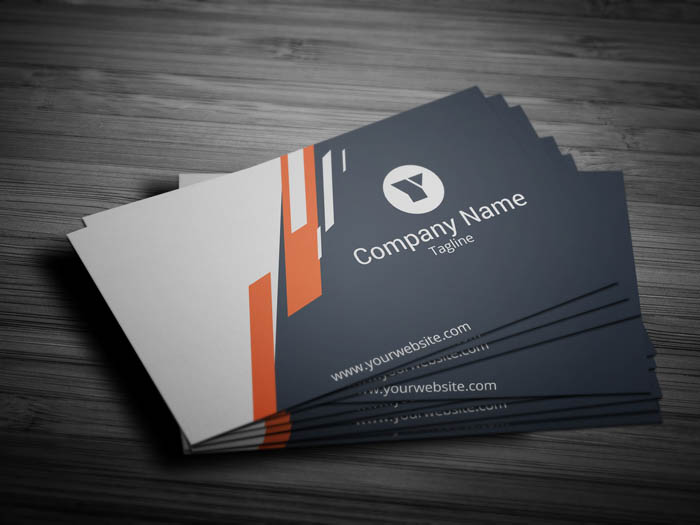 Attorney Business Card - Front