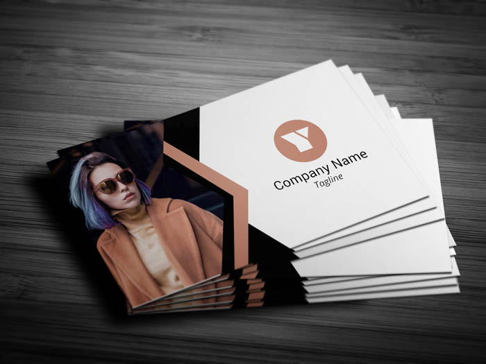 Fashion Blogger Business Card - Front