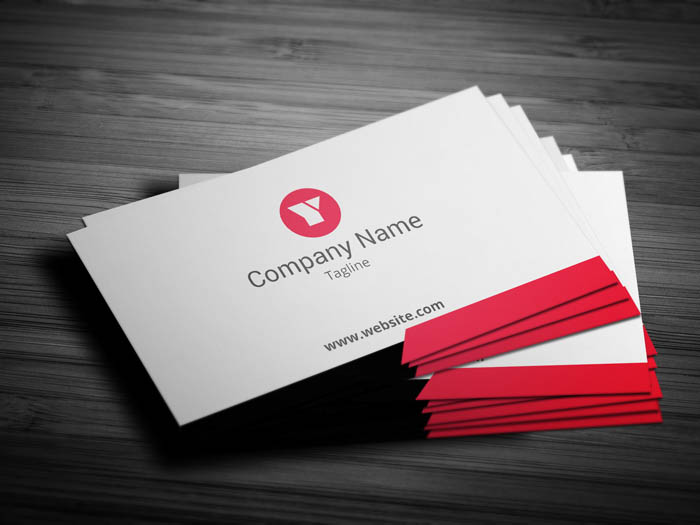 Ad Agency Business Card - Front