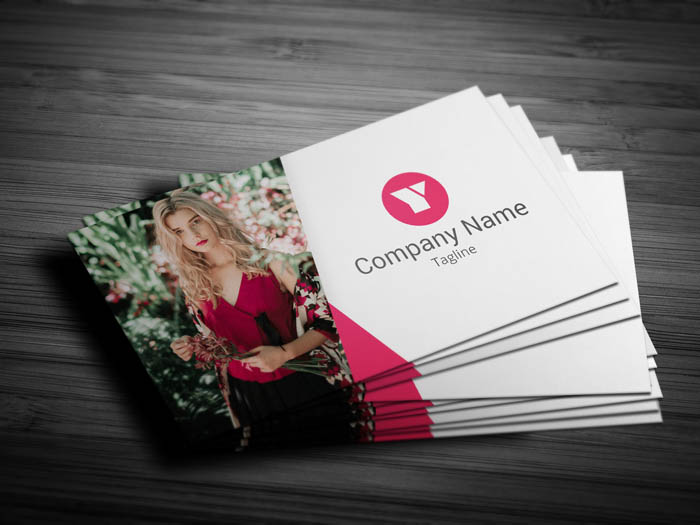 Professional Photographer Business Card - Front