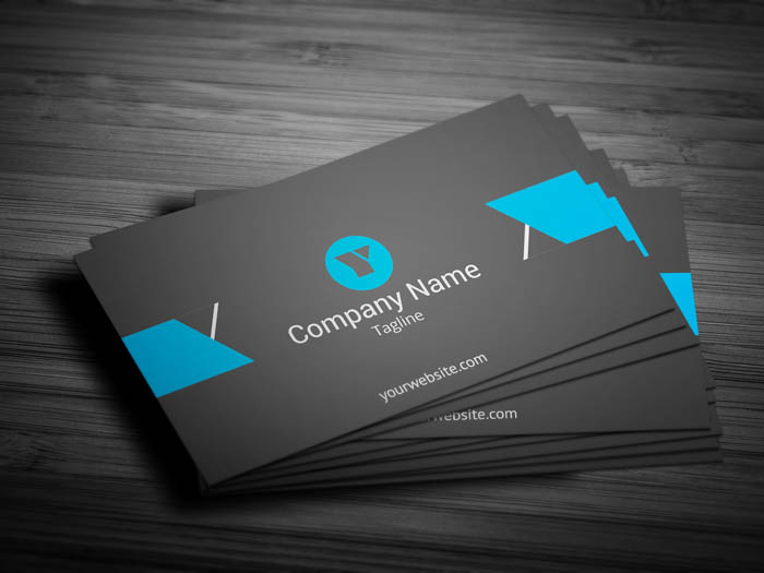 Nautical Business Card - Front