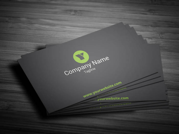 Interior Decorator Business Card - Front