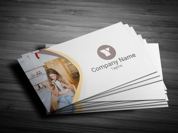 Digital Marketer Business Card - Front
