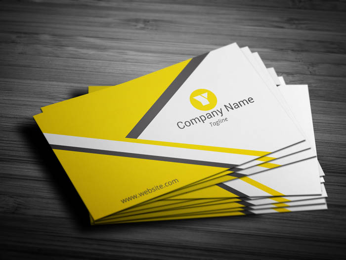 Creative Manager Business Card - Front