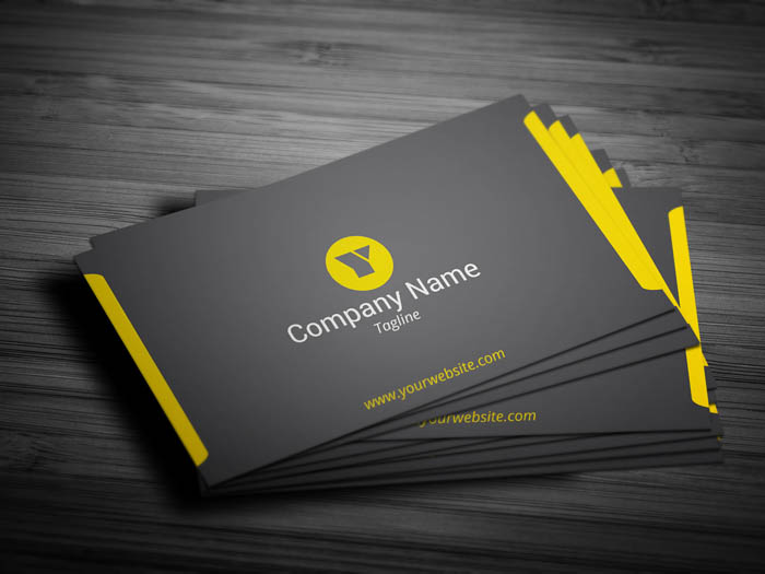 Modern And Minimal Lawyer Business Card - Front