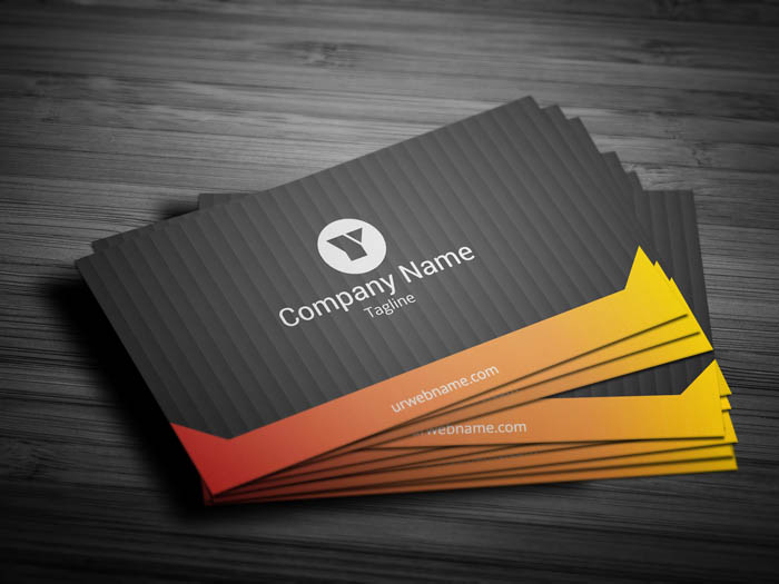 Designer Business Card - Front