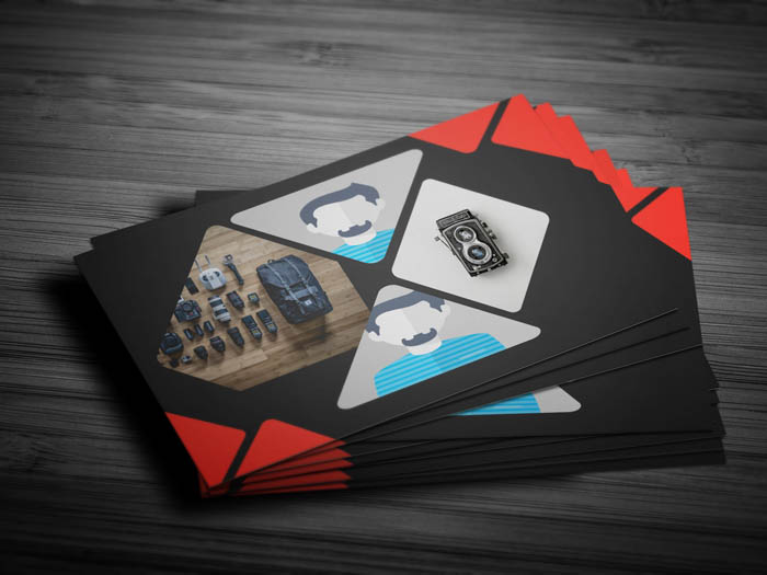 Awesome Photography Business Card - Front