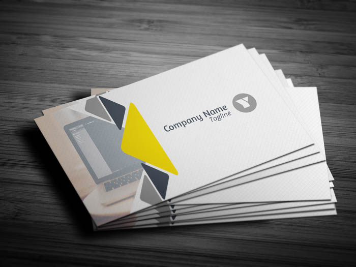 Luxury Real Estate Business Card - Front