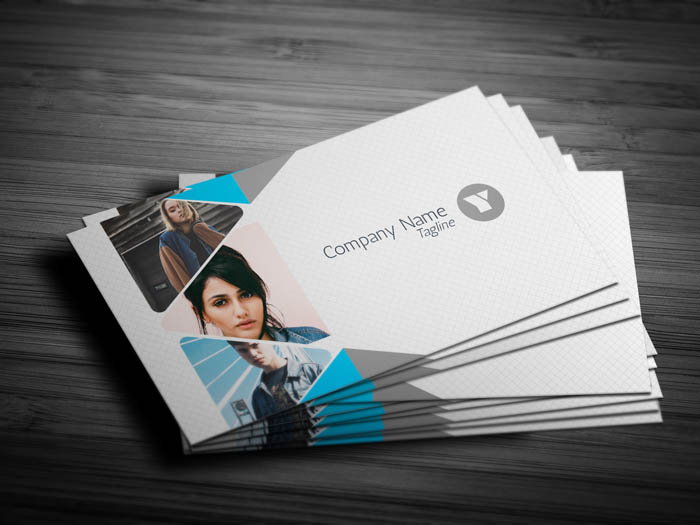 Professional Photography Business Card - Front